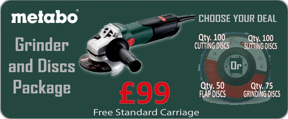 metabo grinder package