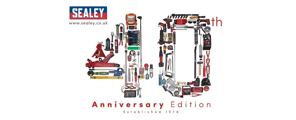Sealey 40th anniversary