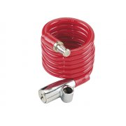 ABUS 1950/120 Recoil Keyed Cable Lock 7mm x 120cm Coloured