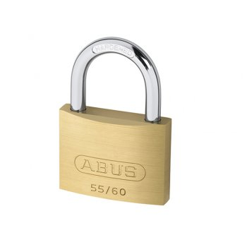 ABUS 55/60 60mm Brass Padlock Carded