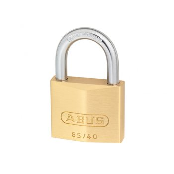 ABUS 65/45 45mm Brass Padlock Carded