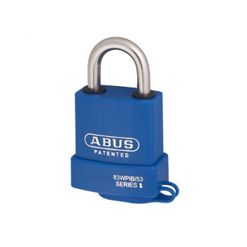 ABUS 83WPIB / 53 Submariner Brass Body Stainless Steel Shackle Padlock