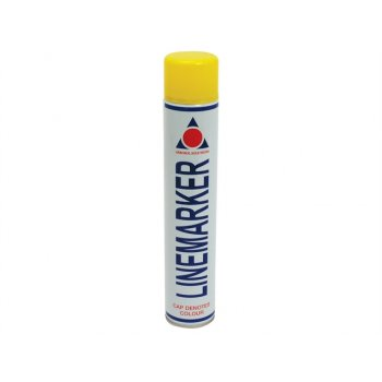 Aerosol 0900 Line Marking Spray Paint Yellow 750ml