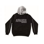 Apache Hooded Sweatshirt Black / Grey  - XL (48in)