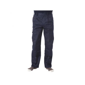 Apache Navy Industry Trousers Waist 42in Leg 31in