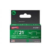 Arrow JT21 T27 Staples 8mm ( 5/16in) Box 1000