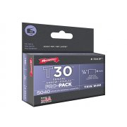 Arrow T30 Staples 304IP 6mm (1/4in) Box 5000