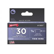 Arrow T30 Staples 305IP 8mm (5/16in) Box 5000
