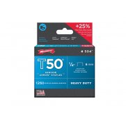 Arrow T50 Staples 6mm (1/4in) Box 5000