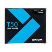 T50 Staples 6mm (1/4in) Bulk Pack 5000