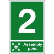 Assembly Point 2 - PVC (200 x 300mm)