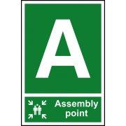 Assembly Point A - PVC (200 x 300mm)