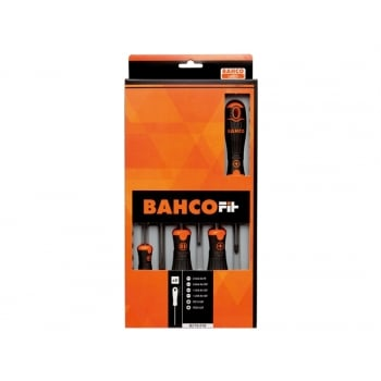Bahco BAHCOFIT Screwdriver Set of 6 Slotted / Pozi