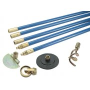 Bailey 1324 Lockfast 3/4in Drain Rod Set 4 Tools