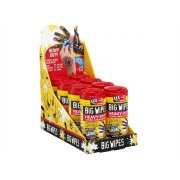 Big Wipes Red Top 4X4 Heavy-Duty Hand Cleaners CDU 16 x Tub of 80
