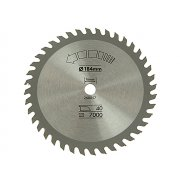 Black & Decker Circular Saw Blade 184 x 16mm x 40T Fine Cross Cut