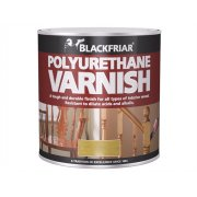 Blackfriar Polyurethane Varnish P100 Clear Satin 1 Litre