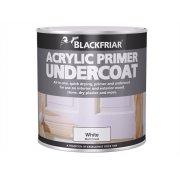 Blackfriar Quick Drying Acrylic Primer Undercoat Grey 1 Litre