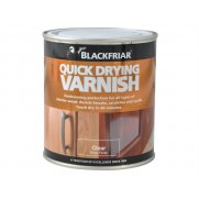 Blackfriar Quick Drying Duratough Interior Varnish Clear Gloss 250ml