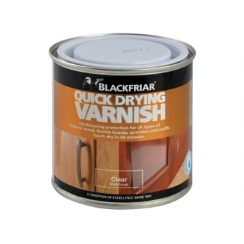 Blackfriar Quick Drying Duratough Interior Varnish Clear Matt 500ml