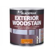 Blackfriar Traditional Exterior Woodstain Nut Brown 1 Litre