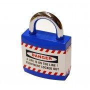 Blue Jacket Safety Padlocks (each)