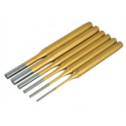 BlueSpot Tools Gold Pin Punch Set of 6