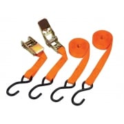 Ratchet Tie Down Set 2 Piece 25mm x 4.5m