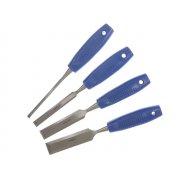BlueSpot Tools Wood Chisel Set of 4: 6, 12, 19 & 25mm