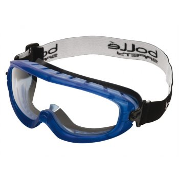 Boll Safety Boll? Safety Atom Safety Goggles Clear - Ventilated Foam Seal