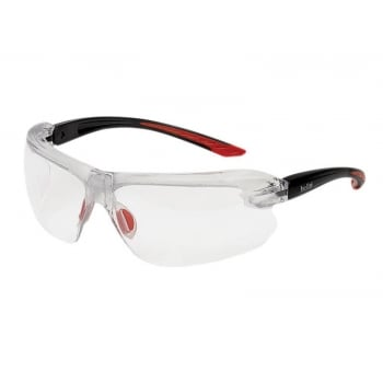 Boll Safety Boll? Safety IRI-s Safety Glasses Clear Bifocal Reading Area +3.0
