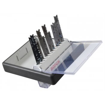 Bosch 2607010542 Robust Line Wood and Metal Jigsaw Blade Set 10 Piece