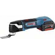 Bosch GOP 18v 2 x 4ah Multi Tool