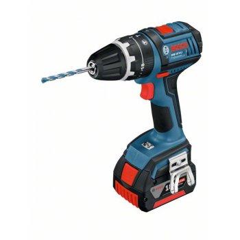 Bosch GSB 18 VE-LI Robust Combi Drill 18 Volt 2 x 4.0Ah Li-ion