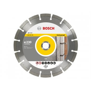 Bosch Universal Diamond Disc 230mm Pack of 1