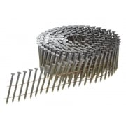 2.8 x 50mm Coil Nails Ring Shank Galvanised Pack of 9,000