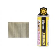 Bostitch 45mm 16 Gauge Straight Galvanised Finish Nails & Fuel Cell (2000)