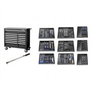 Britool E220334B Roller Cabinet Toolkit 390 Piece Black