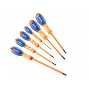 Britool Screwdriver Set 6 Piece Insulated Slotted/Phillips