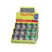 Brummer Counter Display 12pc Small Green/yellow