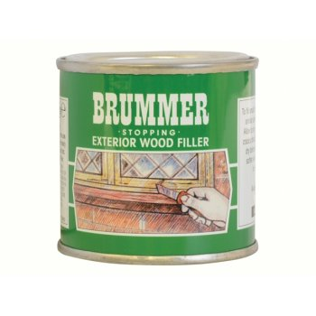 Brummer Green Label Exterior Stopping Small Dark Mahogany
