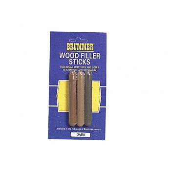 Brummer Wood Filler Sticks (Card 3) - Dark