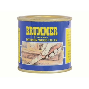 Brummer Yellow Label Interior Stopping Small Medium Mahogany