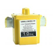 Carroll & Meynell 1000/2 Transformer Twin Outlet Rating 1Kva Continuous 500va