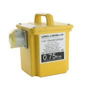 Carroll & Meynell 7501/1 Transformer Single Outlet Rating 750va Continuous 375va