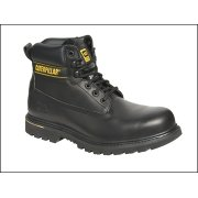 Holten Black Leather Goodyear Welted Safety Boot UK Size 9 Euro 43