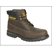 Holten Brown Leather Goodyear Welted Safety Boot UK 9 Euro 43
