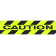 Caution - Non Slip Floor Treads (150 x 609mm Each)