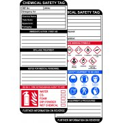 Chemical Safety Tag Insert