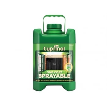 Cuprinol Spray Fence Treatment Black 5 Litre